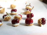 Snack Girl Cherry Cheesecake Bites