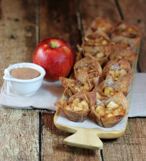 Mini Cinnamon Apple Tart