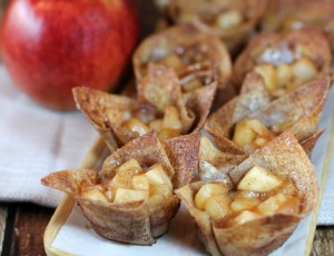 Mini Cinnamon Apple Tart