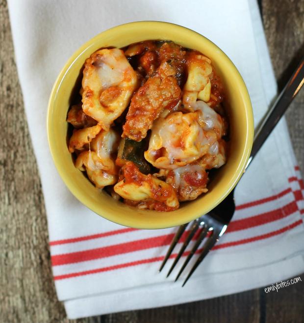 Sausage Tortellini Skillet