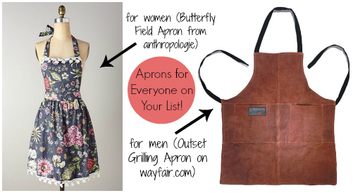 21 Gift Ideas for Healthy Cooks: Anthropologie and Outset Aprons