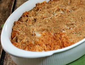 Chicken Parmesan Quinoa Bake