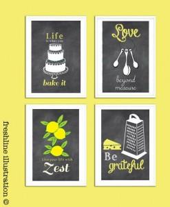 21 Gift Ideas for Healthy Cooks: Freshline Prints