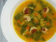 Healthy Italian Wedding Soup