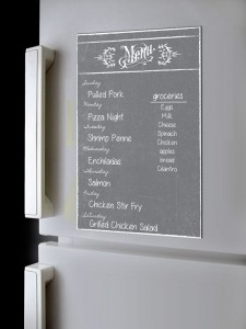 21 Gift Ideas for Healthy Cooks: Alaboard Menu Planner