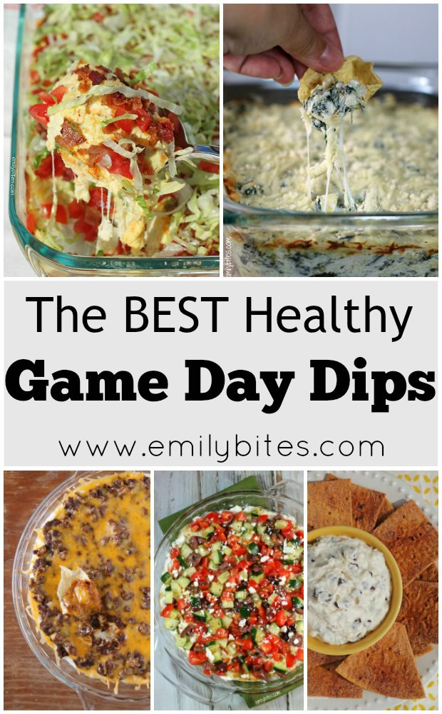 Healthy Game Day Dips