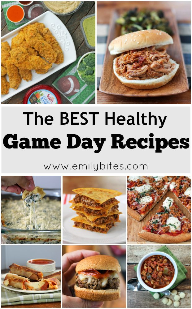 The Best Healthy Game Day Recipes