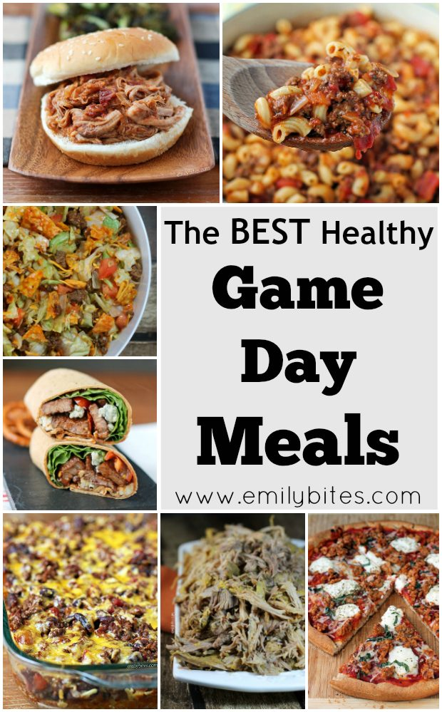 Healthy Game Day Meals