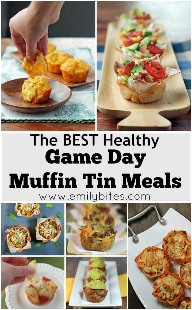 Healthy Game Day Muffin Tin Meals