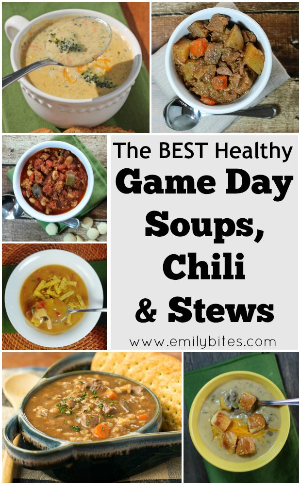 Game Day Soups Chili and Stews