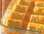 Buffalo Chicken Lasagna Roll-Ups