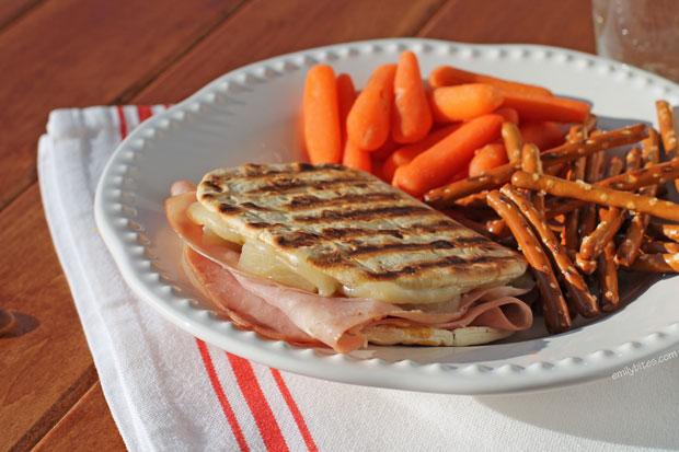 Hawaiian Ham & Cheese Melt
