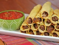 Spicy Beef Taquitos