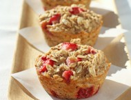 Strawberry Banana Baked Oatmeal Singles