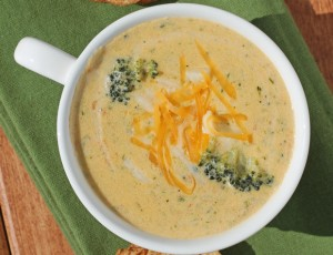 Light Broccoli Cheddar Soup