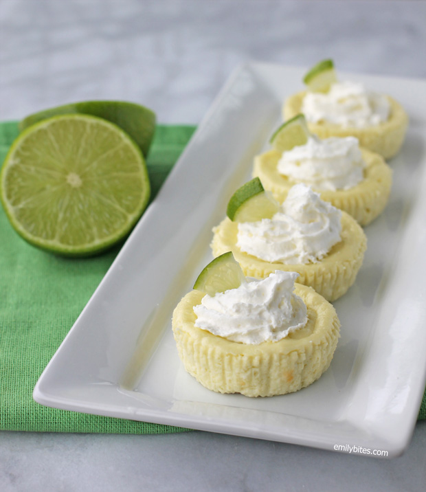 Key Lime Cheesecake Cups