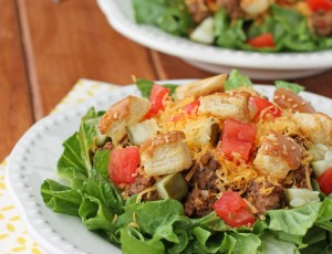 Cheeseburger Salad