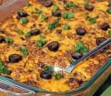 Beef Enchilada Quinoa Bake