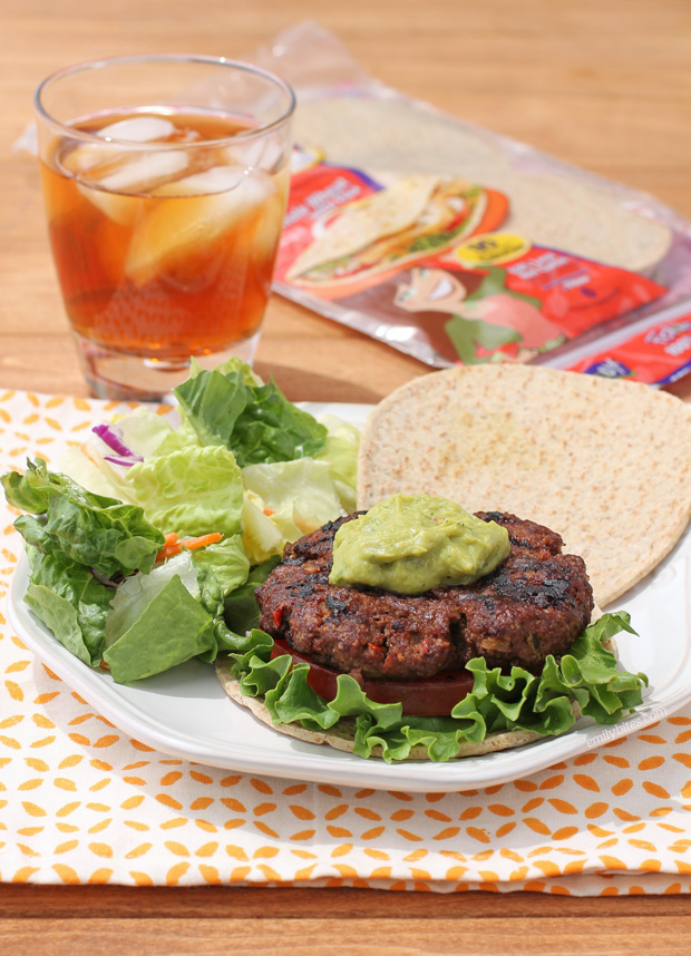 Mexi-Burgers with Guacamole