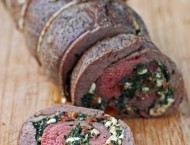 Spinach and Feta Stuffed Flank Steak