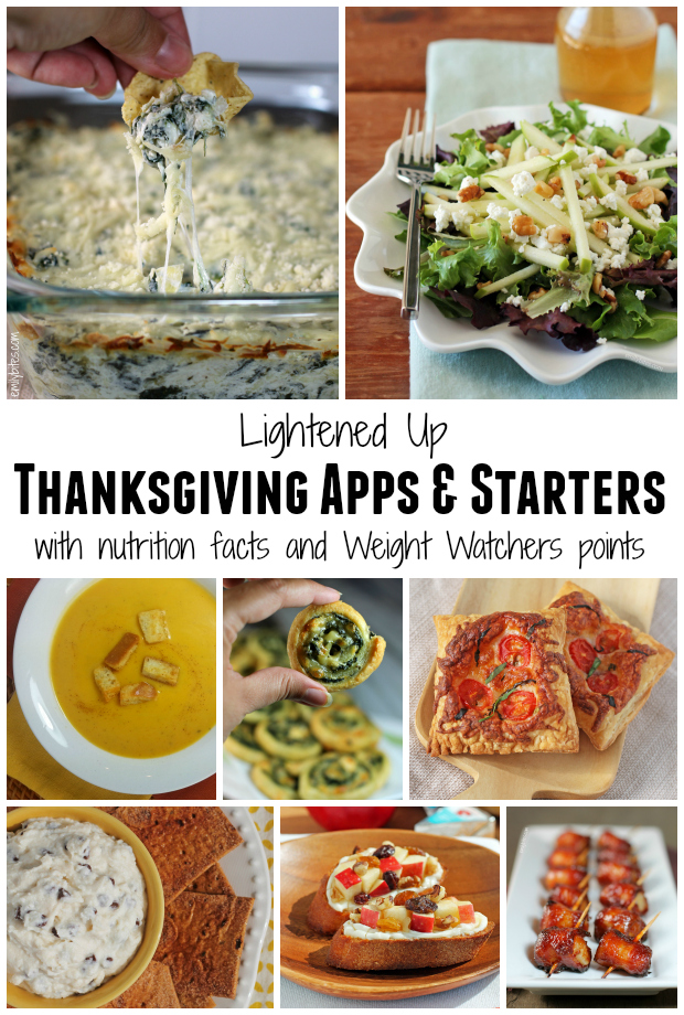 Lightened Up Thanksgiving Appetizers