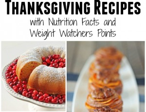 Lightened Up Thanksgiving Recipes