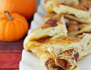 Pumpkin Pie Pastry Pockets