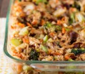 Teriyaki Chicken and Rice Casserole