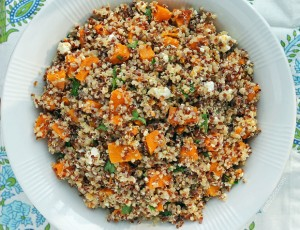 Butternut Squash Quinoa Salad