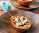Cheesy Cinnamon Baked Pears