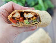 Spicy Southwest Chicken Wraps