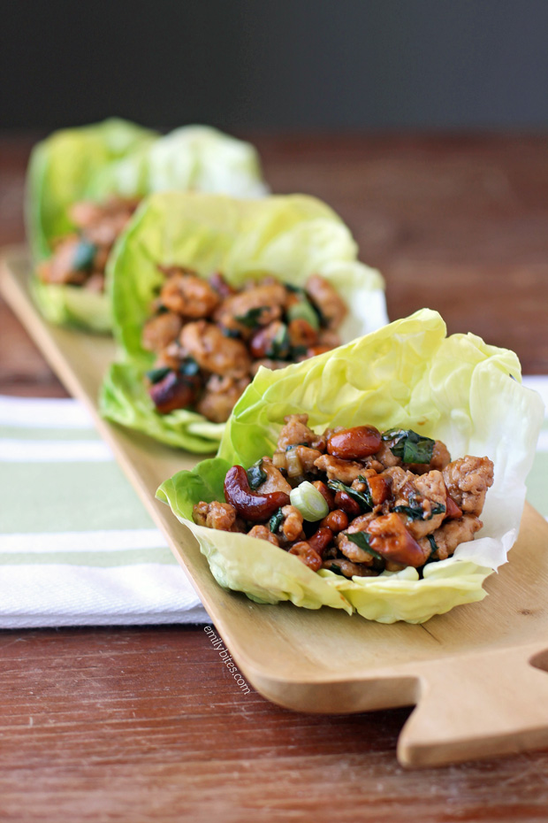 cashews chicken and cashews in lettuce cups recipes dishmaps cashews ...