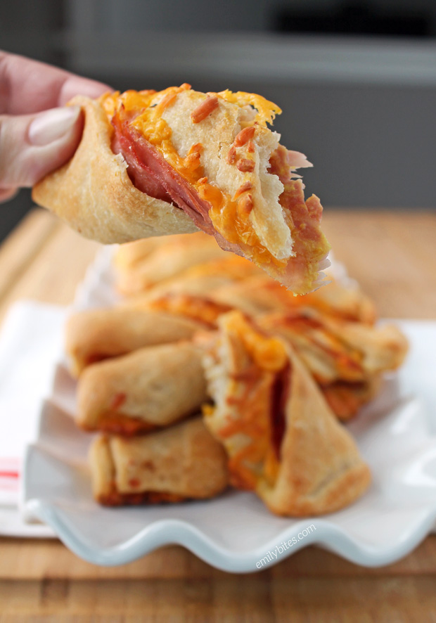 Ham and Cheese Twists
