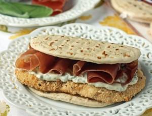 Chicken Saltimbocca Sandwiches