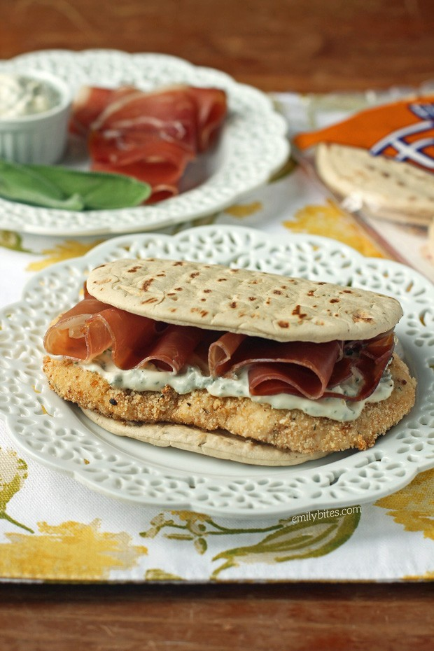 Chicken Saltimbocca Sandwiches