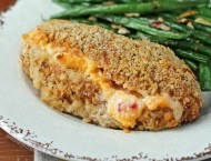 Pimento Cheese Stuffed Chicken