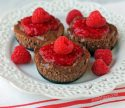 Chocolate Raspberry Cheesecake Cups
