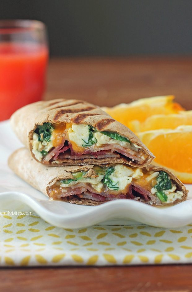 Maple Bacon Breakfast Wraps