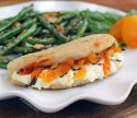 Apricot Goat Cheese Stuffed Chicken