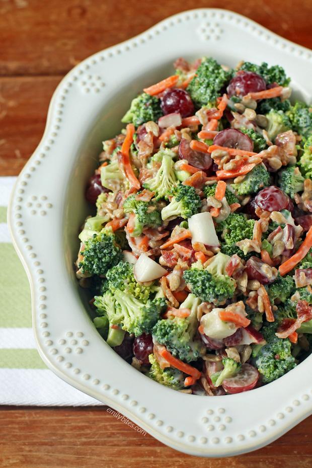 Broccoli Salad Emily Bites