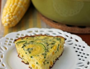 Corn and Zucchini Summer Frittata