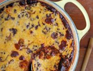 One-Pot Cincinnati Chili Spaghetti Bake