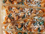 Savory Sausage Pumpkin Flatbreads
