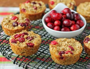 Orange Cranberry Baked Oatmeal Singles
