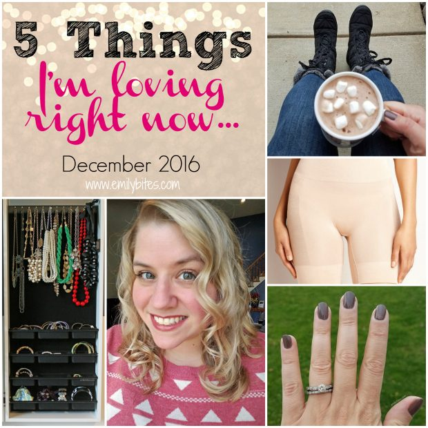 5 Things I'm Loving Right Now December 2016