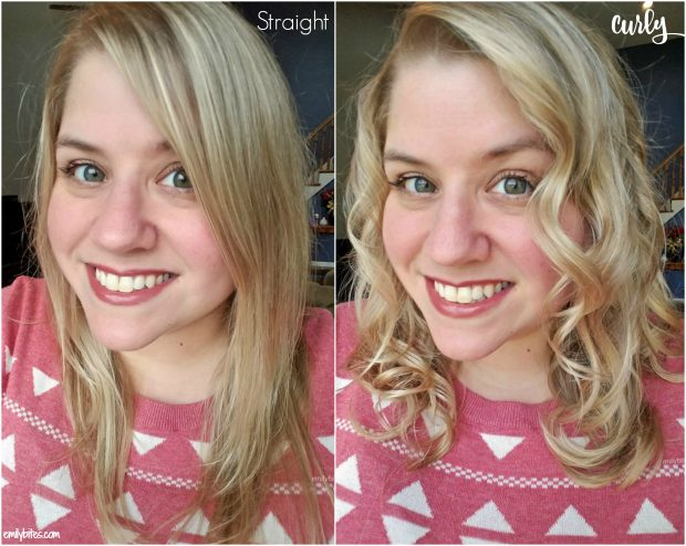 Conair Curl Secret Before and After