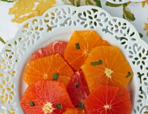 Honey Mint Citrus Salad