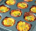 Ham and Cheese Egg Cups