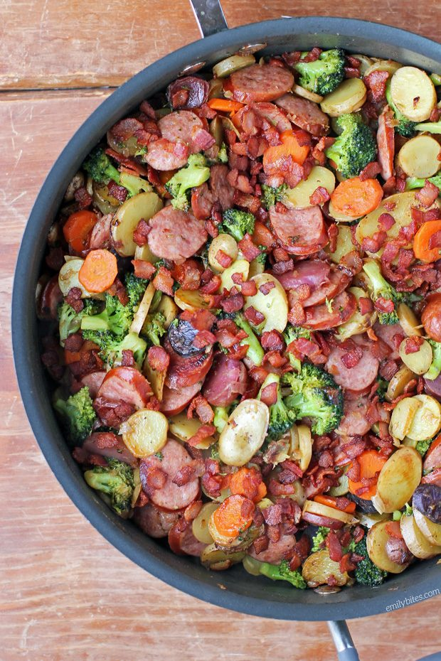 Rustic Sausage and Potato Skillet