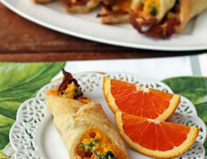 Bacon Egg and Cheese Breakfast Pastries